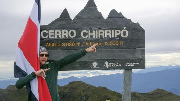 Mark Hegedüs im Nationalpark Chirripo: Der 44-Jährige freut sich auf dem höchsten Berg Costa Ricas, dem Cerro Chirripo. (Quelle: dpa)