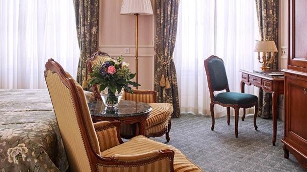 Für 199 Euro pro Zimmer und Nacht verbringen Sie einen Aufenthalt in dem 5-Sterne-Luxushotel Grand Hotel Wien.  (Quelle: Grand Hotel Wien)