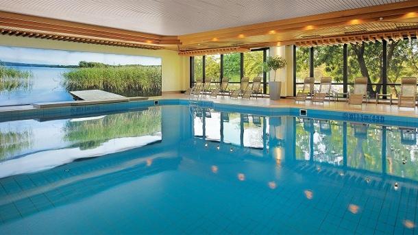 Im Wellnessbereich des Bilderberg Bellevue Hotels finden Sie den größten Hotelpool der Stadt. (Quelle: Bilderberg Bellevue Hotel Dresden)