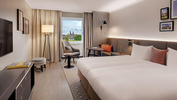 Bilderberg Bellevue Hotel:Eine Nacht im Standardzimmer kostet 89 Euro für zwei Personen. (Quelle: Bilderberg Bellevue Hotel Dresden)